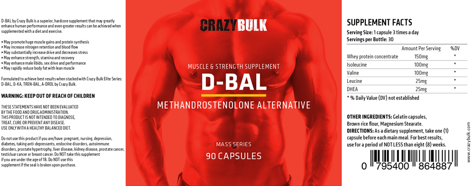 Dianabol Supplement