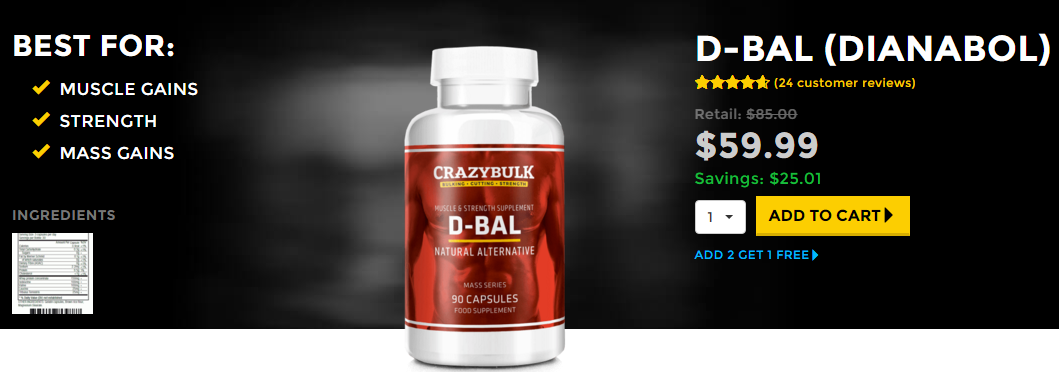 DBal Legal Dianabol Alternative