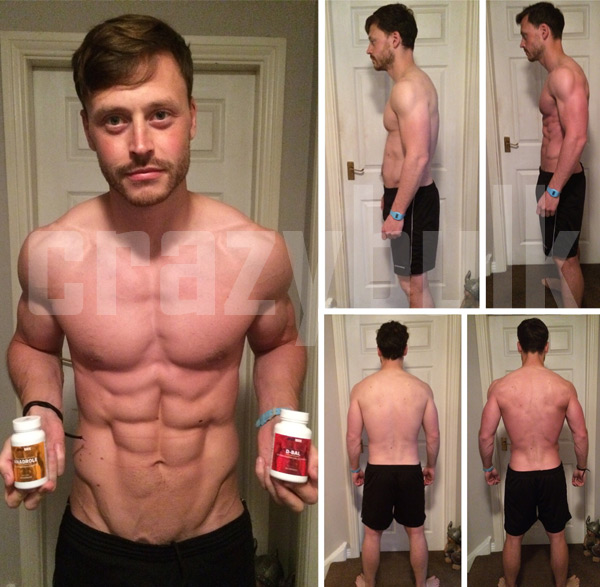 john miller before after dianabol results pics